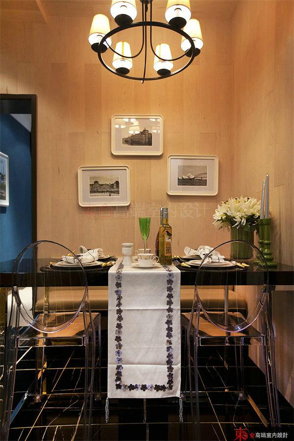 餐厅图片来自東合設計在英伦湾样板间——爱马仕的分享