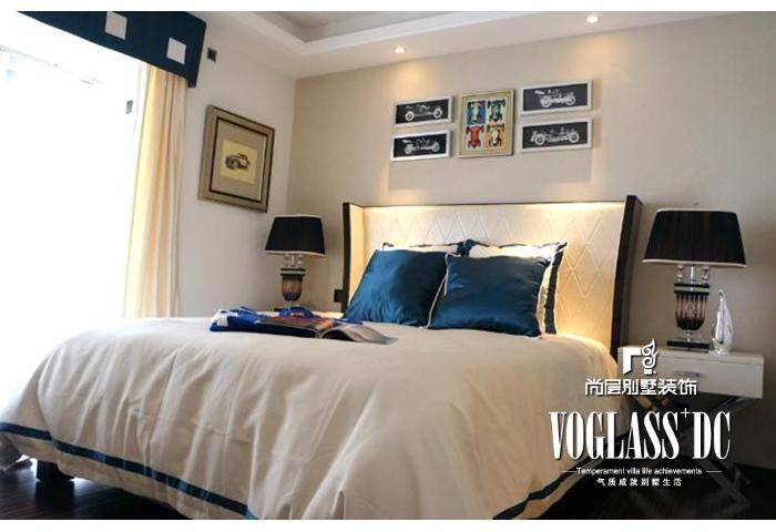 别墅 欧式 简约 卧室图片来自博览天下在尚层装饰配饰实景效果图的分享