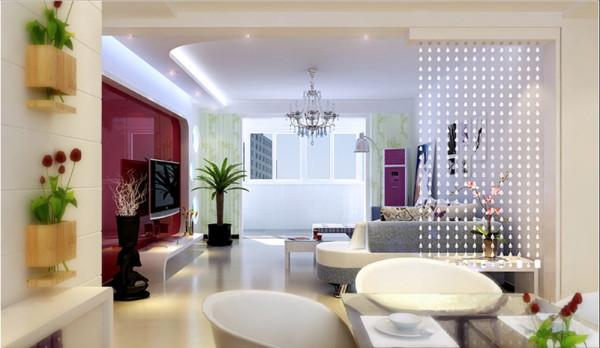济南实创装饰装修-名泉春晓142平米-现代简约风格装修案例效果图