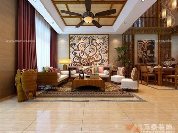 中海铂宫联排别墅泰国风情