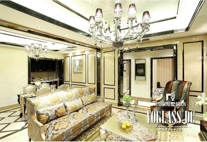别墅 欧式 简约 客厅图片来自博览天下在尚层装饰配饰实景效果图的分享
