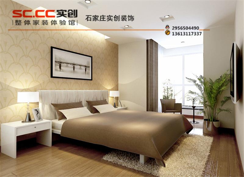 简约 二居 雍和慢城 90平米 G户型 卧室图片来自北京实创集团在最新签约【雍和慢城90平装修】的分享