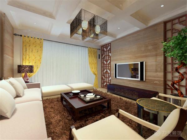 吉宝季景兰庭洋房3B1-L-F2首层户型3室2厅2卫1厨 235.00㎡,本案设计风格属于新中式。