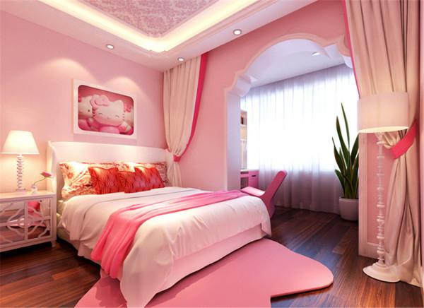 卧室是主要的休息空间,色彩搭配舒适内心,放松身体,调节疲惫的神经,用风格独特的天棚与墙面造型突出房间整体的风格