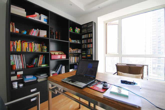 日升装饰 书房图片来自装修设计芳芳在安静而淡然、得意时淡然于胸的分享