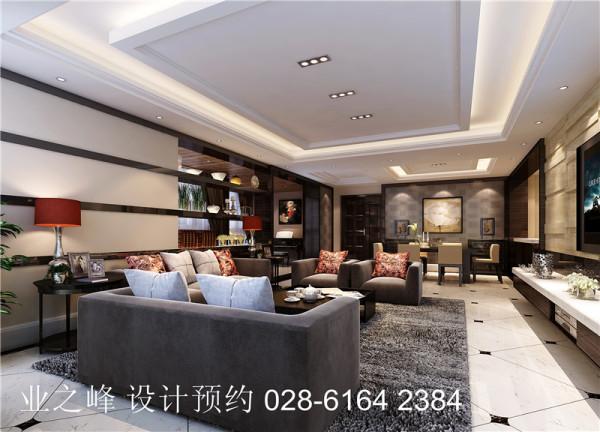 【客厅】横条装饰沙发背景墙可有装饰的效果也有也摆放装饰品