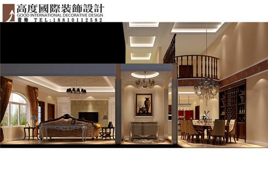 欧式 别墅 楼梯图片来自高度国际装饰黄帅在36W打造香山第一独栋别墅的分享
