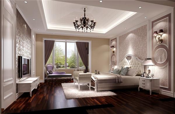蔚蓝卡地亚餐厅卧室效果图-成都高度国际装饰