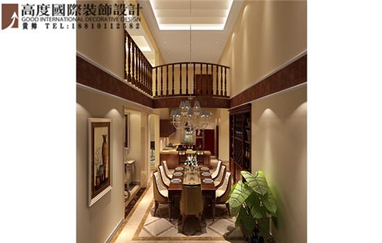 别墅 托斯卡纳 玄关图片来自高度国际装饰黄帅在香江别墅430平米托斯卡纳展示的分享