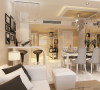 季景沁园宿羽小区2居室简约设计