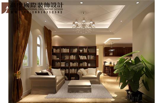 欧式 别墅 书房图片来自高度国际装饰黄帅在36W打造香山第一独栋别墅的分享
