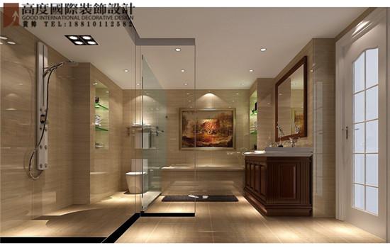 简约 欧式 别墅 卫生间图片来自高度国际装饰黄帅在林肯公园270平米简欧效果展示的分享