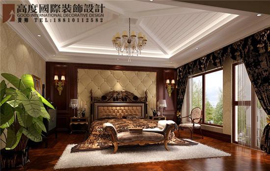 欧式 别墅 卧室图片来自高度国际装饰黄帅在36W打造香山第一独栋别墅的分享