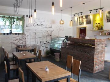 咖啡厅竣工现场照片