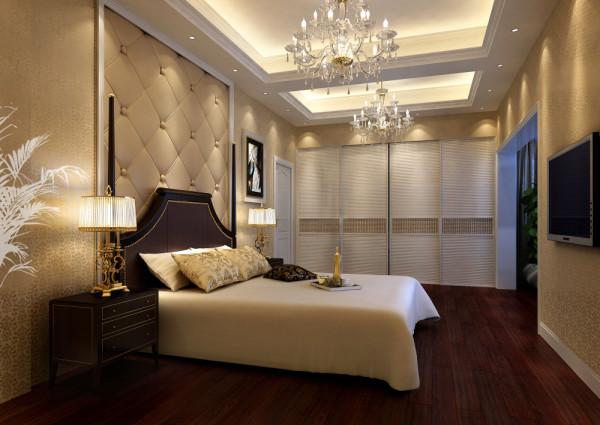设计理念:老人房打破了客餐厅的黑白灰为主调的设计风格,白色简约的背景墙,加上浅暖黄色的灯光,让老人感觉非常安静,沉稳,可以让人有很好休息、睡眠。