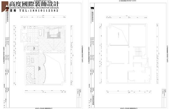 简约 欧式 别墅 户型图图片来自高度国际装饰黄帅在林肯公园270平米简欧效果展示的分享
