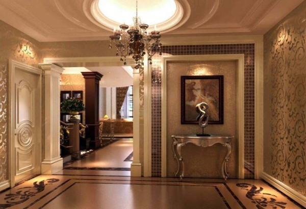 套案例为成都后花园别墅欧式风格装修