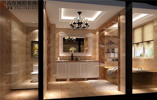 混搭 卫生间图片来自高度国际装饰黄帅在潮白河孔雀城380平米混搭展示的分享