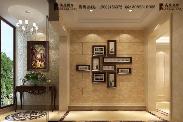佳兆业君汇上品门厅细节效果图-成都高度国际装饰