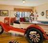 超级酷炫的儿童汽车房!收藏起来留着以后参考吧!