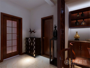 中式 舒适 实用 玄关图片来自阳光力天装饰梦想家更爱家在香馨园的分享