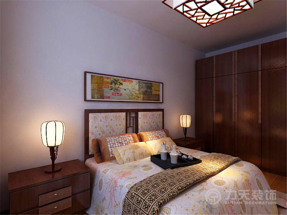中式 舒适 实用 卧室图片来自阳光力天装饰梦想家更爱家在香馨园的分享