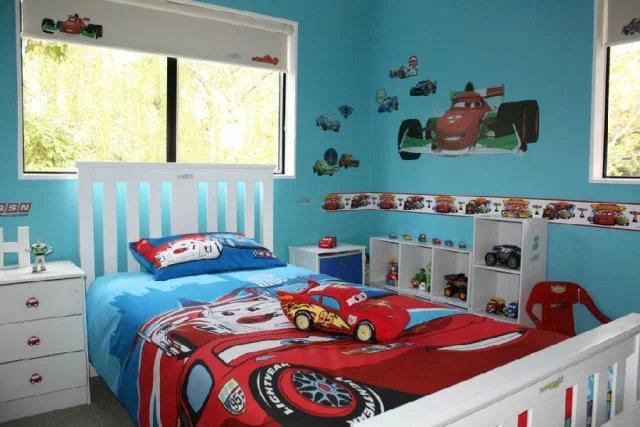 儿童房图片来自天津实创装饰集团l在儿童汽车房的分享