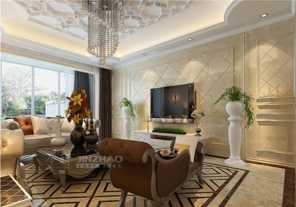 西安莱安逸珲-221平四居室-欧式风格(本小区装修设计41套)