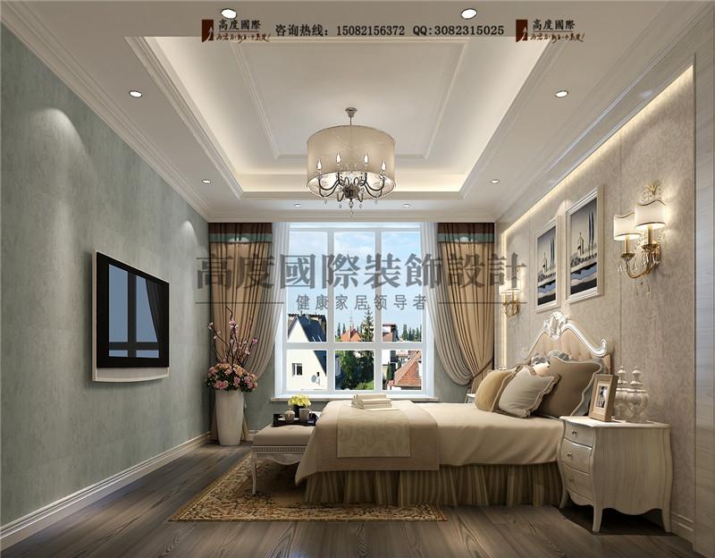 高度国际 卧室图片来自成都高端别墅装修瑞瑞在180平米港式现代-成都高度国际的分享