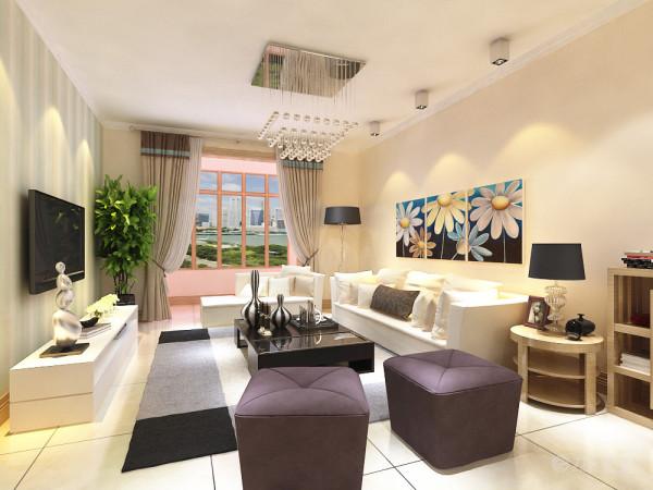 整个房型的面积不是太大根据要求定位现代简约风格整体空间色调以原木色为主和局部强烈的色彩对比用来体现空间的安逸、舒适感觉的同时不失时代感和体现业主的生活情趣。