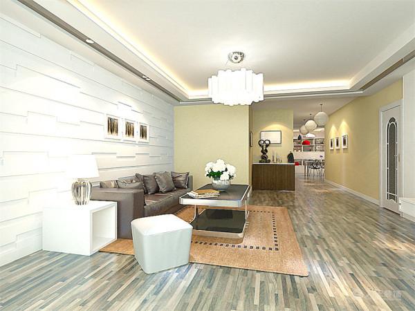 客厅运用造型沙发背景墙和装饰画还有各种精美的柜子的结合使电视背景墙彰显品味。而电视墙运用茶镜和石膏板的形式,壁纸和装饰画的各种装饰的表现形式,更加彰显业主的品味与内涵。