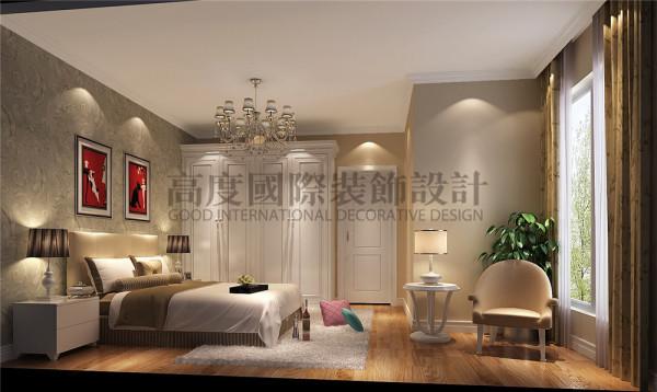 新都交大香悦卧室效果细节图 成都高度国际装饰设计