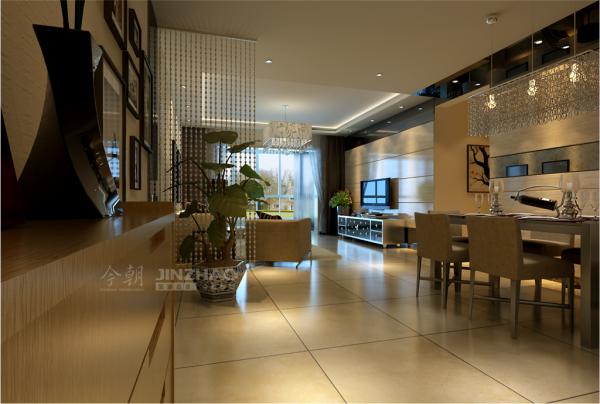 西安龙湖紫都城-96平二居室-简约风格(本小区装修设计86套)