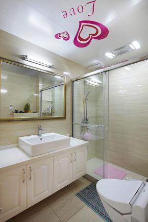 简约 欧式 三居 白领 80后 温馨 卫生间图片来自孙进进在140平简欧温馨时尚公寓的分享