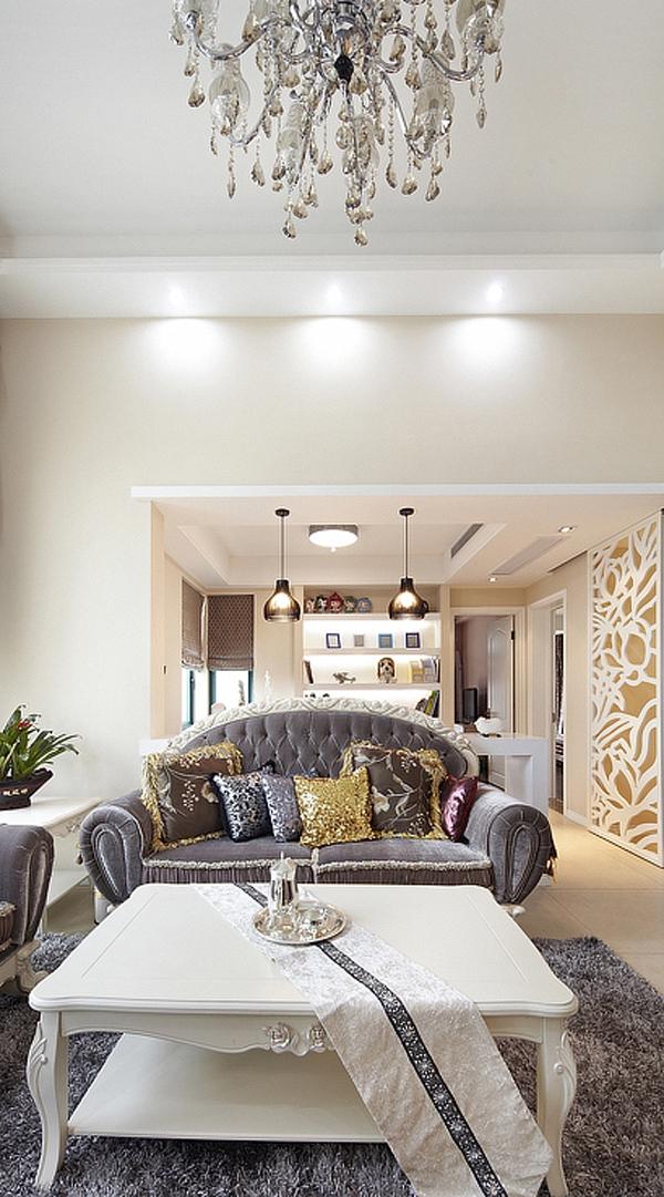 简约 欧式 三居 白领 80后 温馨 客厅图片来自孙进进在140平简欧温馨时尚公寓的分享