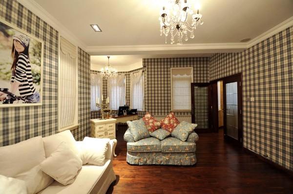 女孩房:以田园与现代打造,温馨优雅之空间,学习休息卧室一体化,让空间更加宽阔明亮
