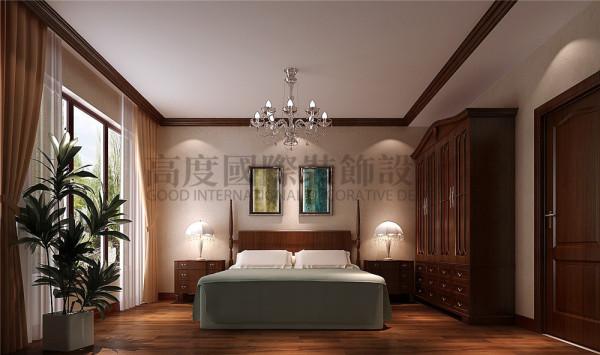 恒大金碧天下卧室效果细节图 成都高度国际装饰设计