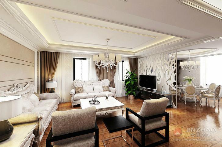 三居 混搭 客厅图片来自152xxxx4841在银海方舟159平的分享