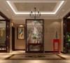 恒大金碧天下-179平米-中式风格