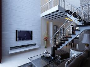 简约 现代 舒适 楼梯图片来自沈阳林凤装饰装修公司在阳光尚城135㎡现代简约风格的分享