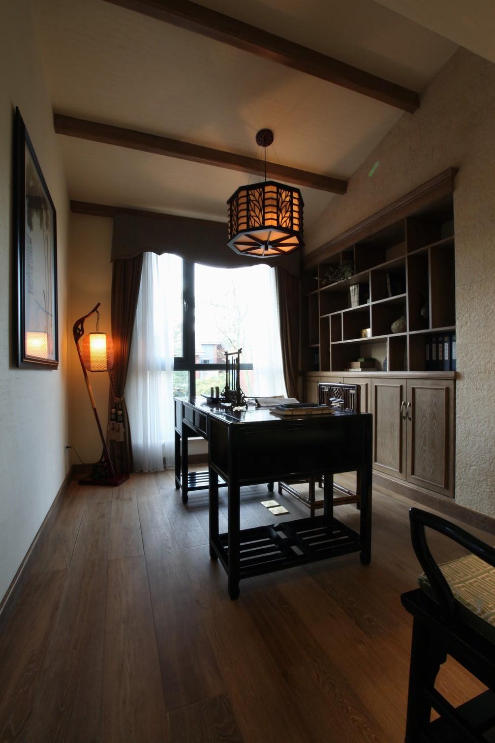 简约 别墅 小资 白领 书房图片来自苹果装饰公司在中式田园风格图欣赏的分享