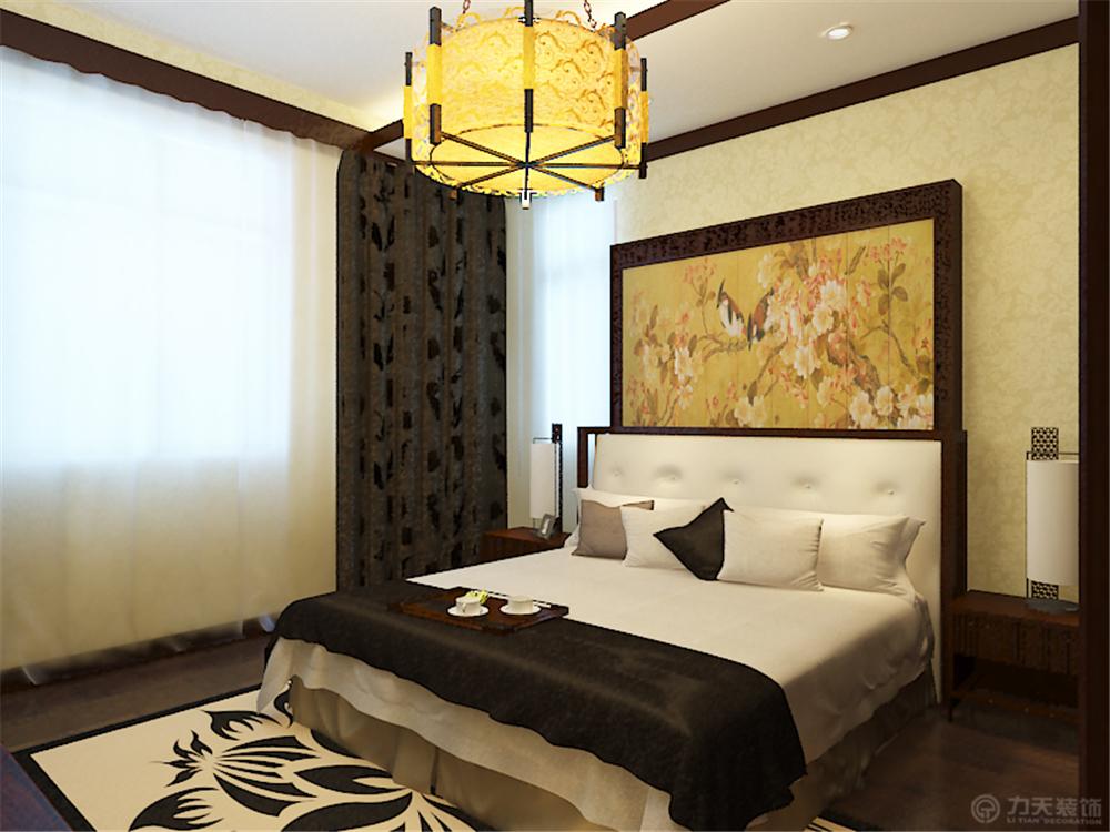 中式 别墅 白领 收纳 80后 小资 卧室图片来自阳光力天装饰在珑著-219㎡-中式风格的分享