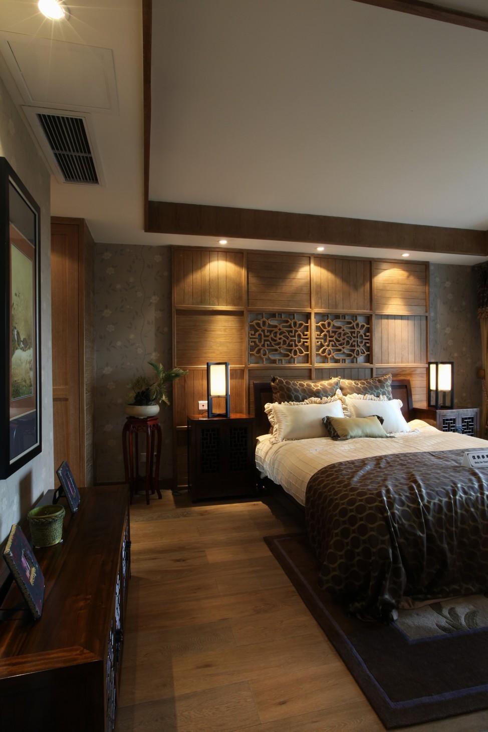 简约 别墅 小资 白领 卧室图片来自苹果装饰公司在中式田园风格图欣赏的分享