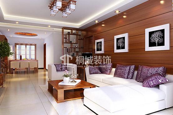 简约 中式 三居 客厅 客厅图片来自小兵无敌在简中-枫林意树的分享