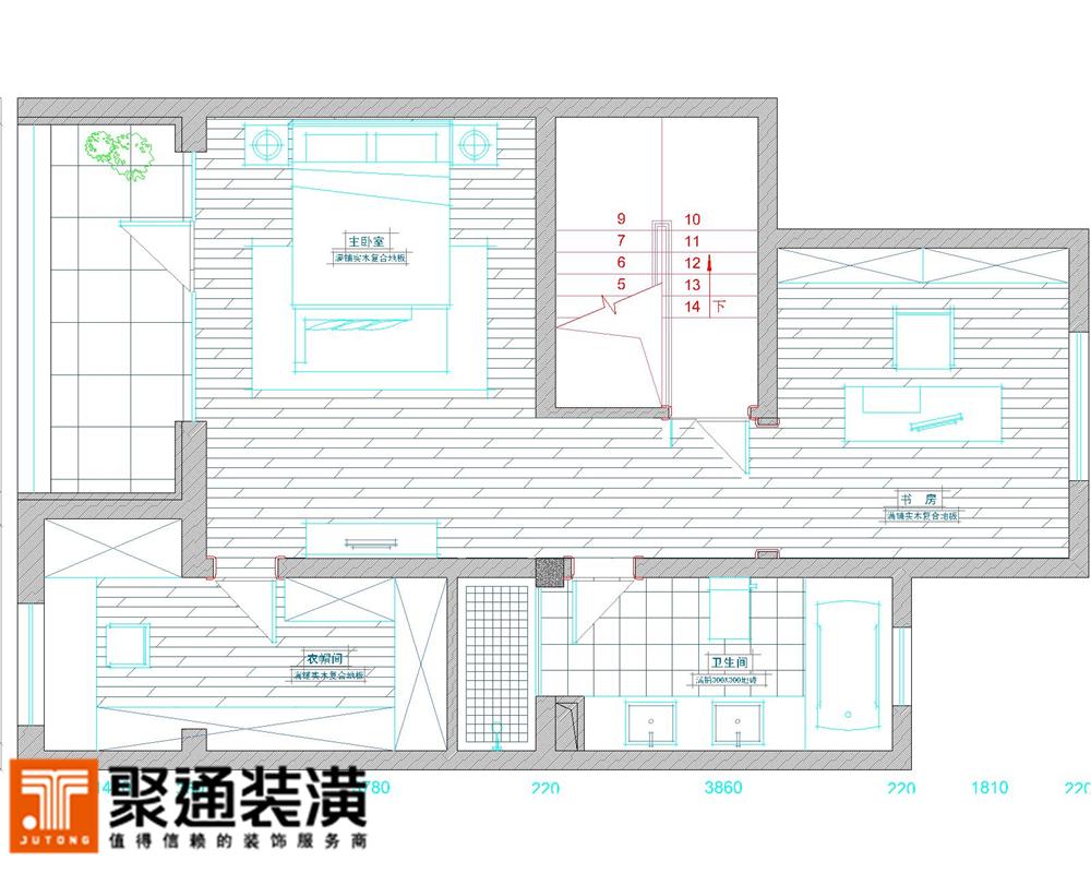 简约 别墅 户型图图片来自jtong0002在安亭瑞士华庭别墅装修设计的分享