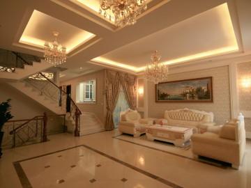 欧式典雅温馨之家--300平米