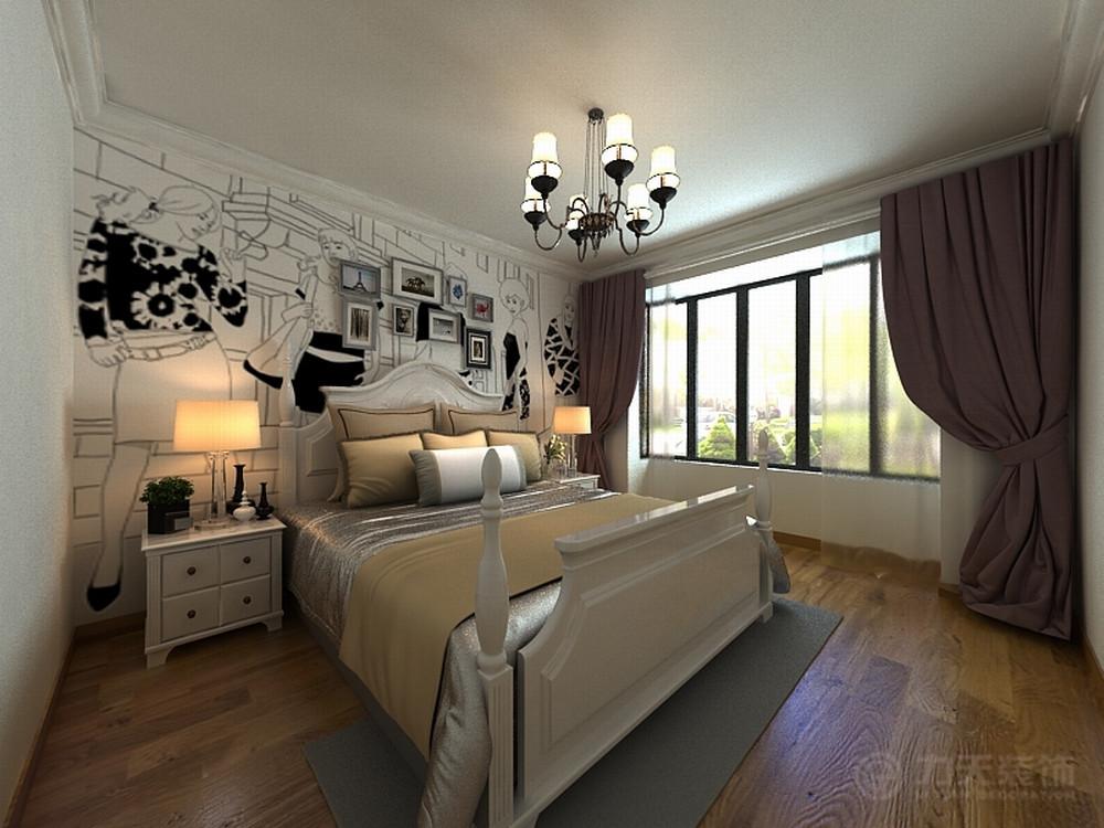简约 三居 收纳 白领 80后 小资 卧室图片来自阳光力天装饰在奥莱城-139.00㎡-雅致主义的分享