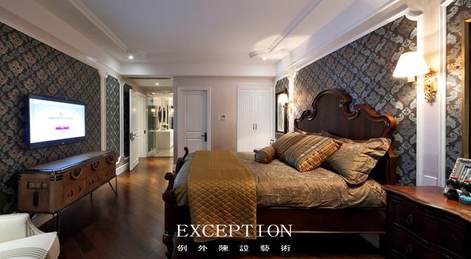 软装设计 室内设计 例外软装 家居软装 例外设计 卧室图片来自例外软装设计在情迷加州--深圳天御山复式的分享