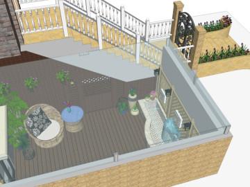 花样年花郡-庭院景观设计