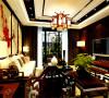 此户型有102平方米,本方案的设计风格为中式风格。